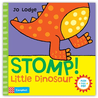 Book cover for Stomp! Little Dinosaur